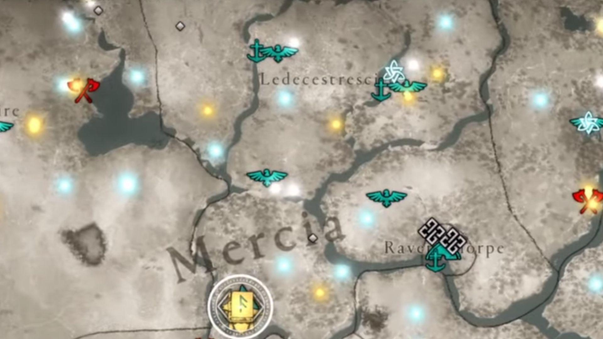 Ledecestrescire map location