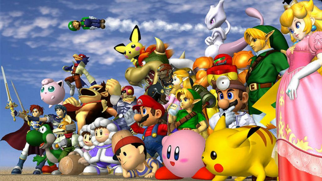 The Super Smash Bros Melee roster
