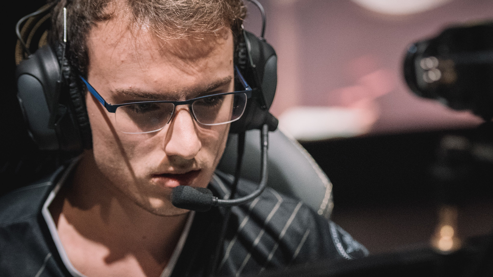 Perkz players on stage for G2 Esports at MSI 2019.