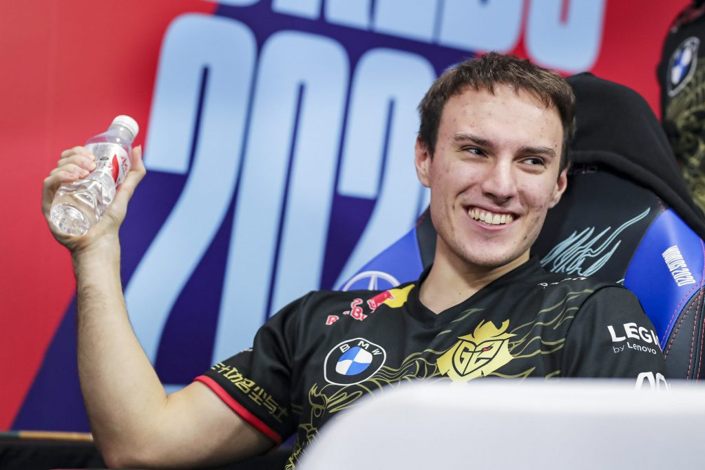 Perkz has played for G2 Esports since 2015, when they were still Gamers2.