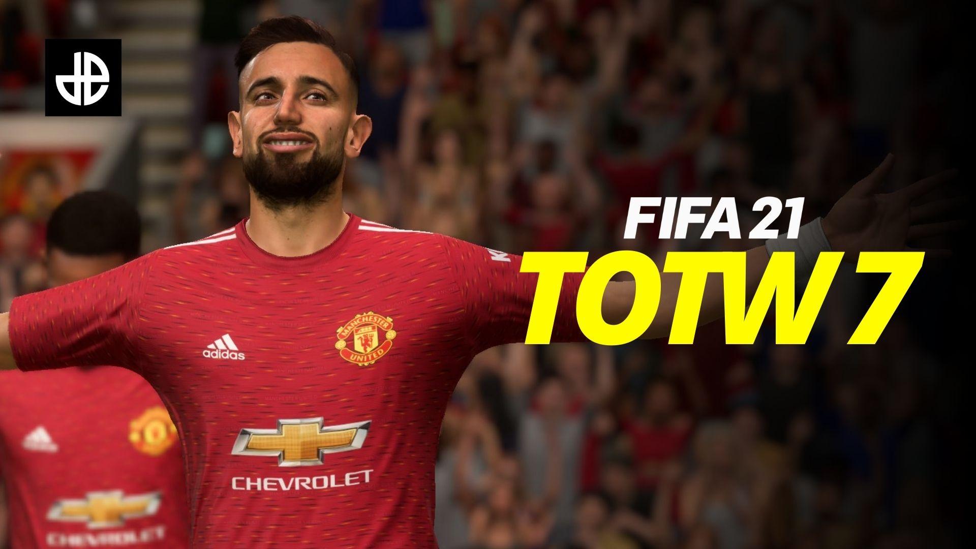 FIFA 21 Bruno Fernandes TOTW 7