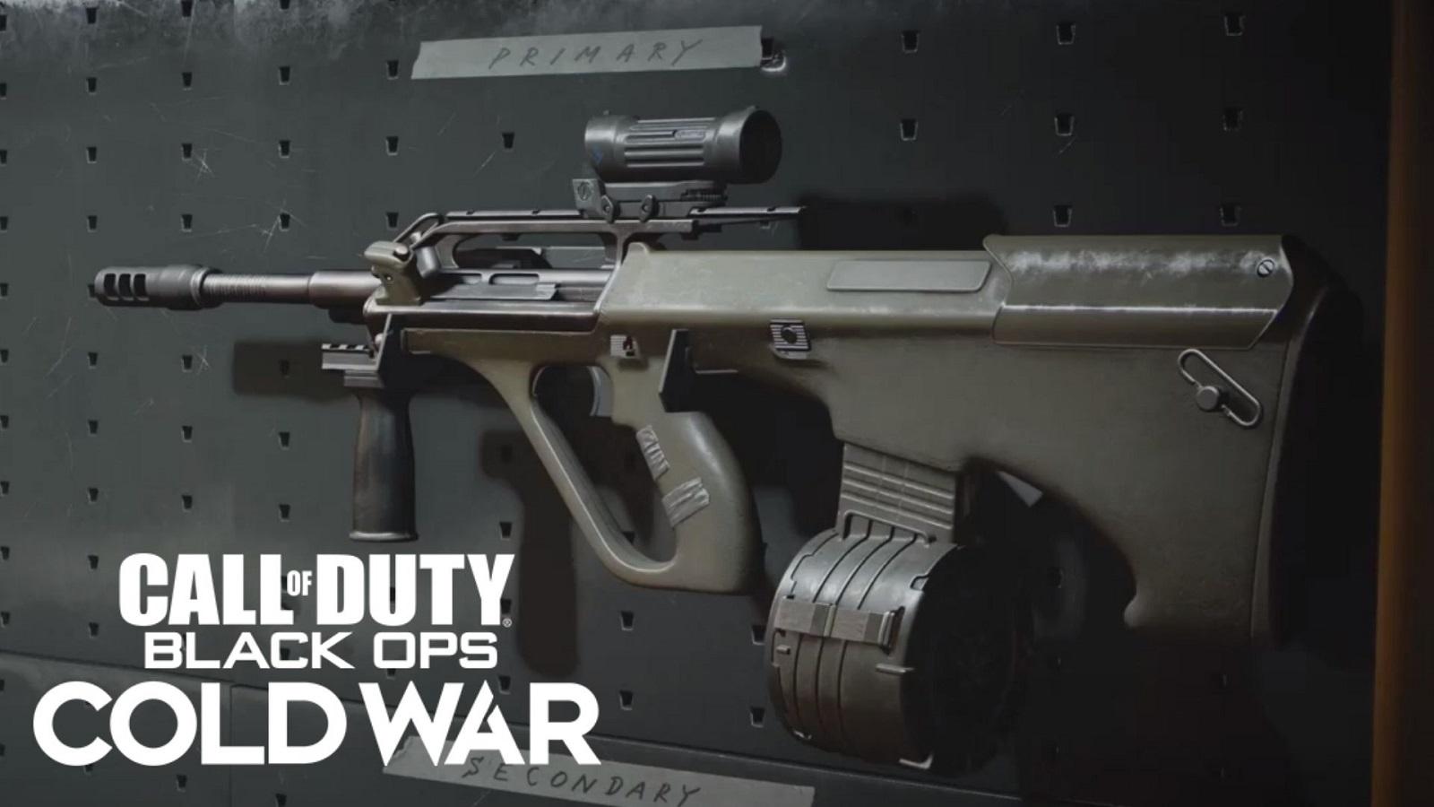 AUG Black Ops Cold War