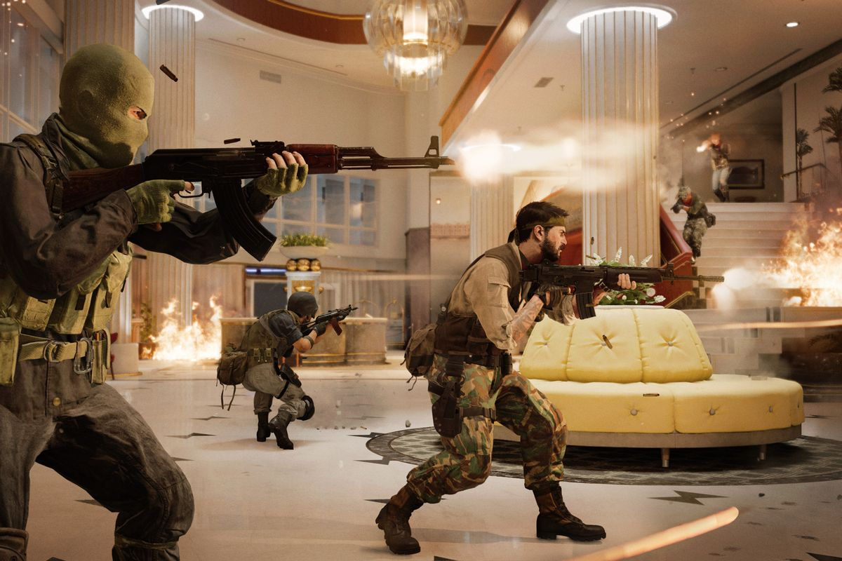 Black Ops Cold War firefight hotel Miami
