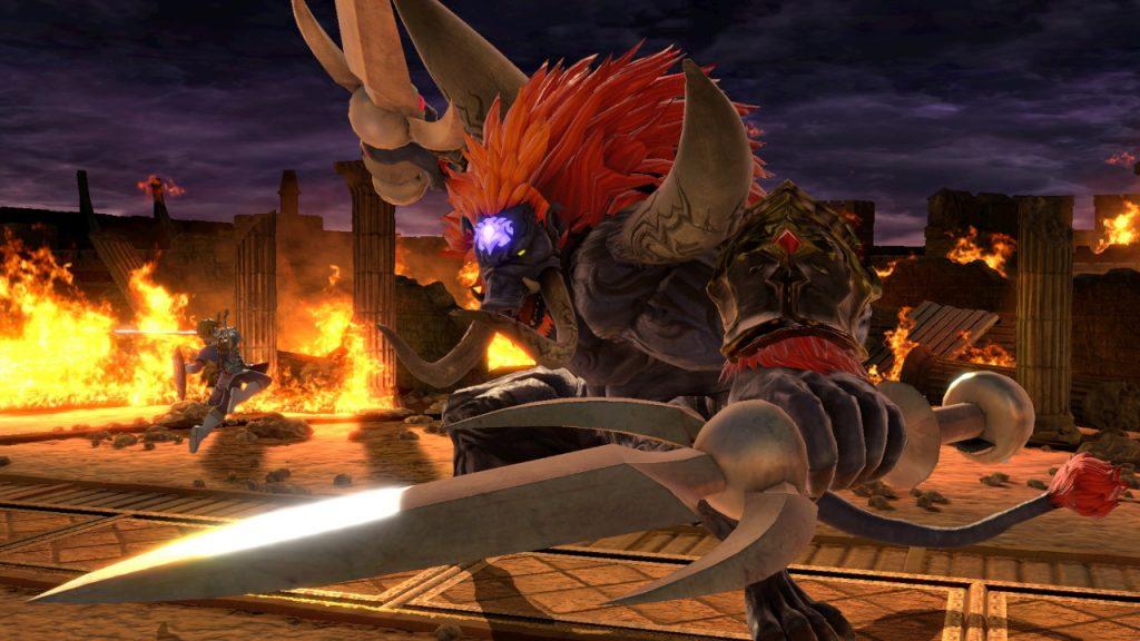 Beast Ganon in Smash Ultimate
