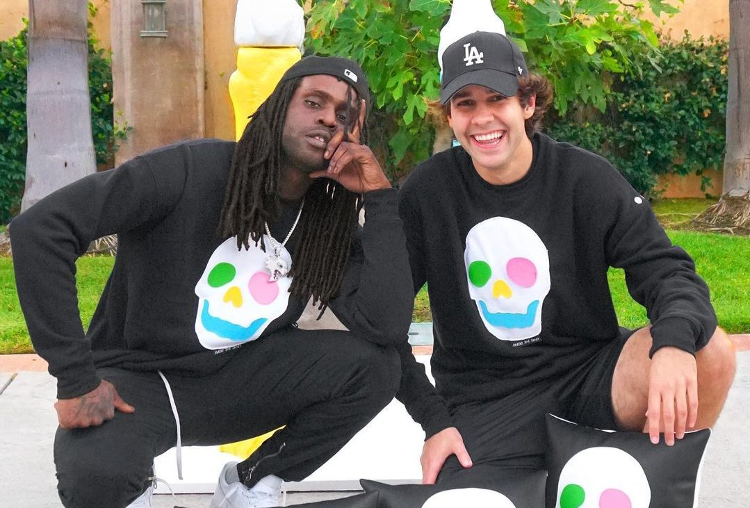 David Dobrik and Chief Keef together