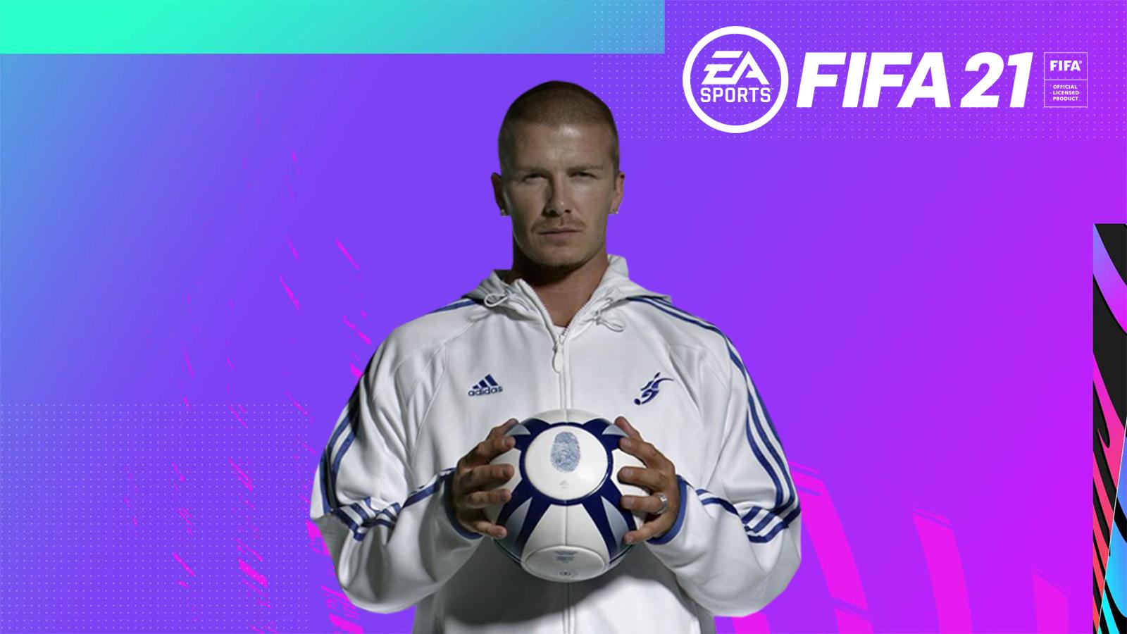 FIFA 21 Ultimate Team David Beckham Icon