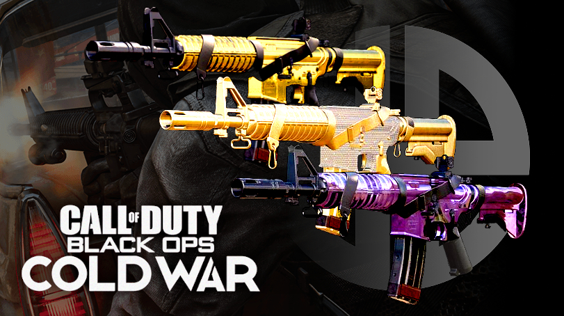 Black Ops Cold War mastery camos