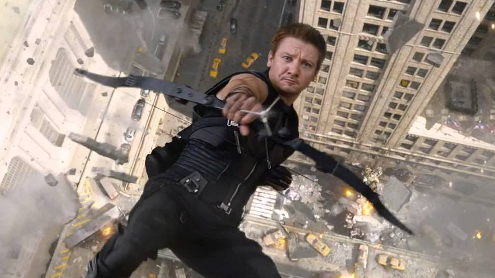 Hawkeye in action