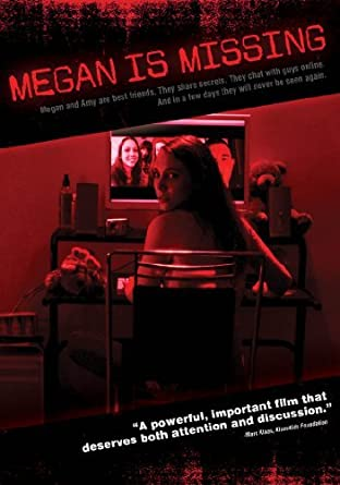 Cover art for horror film Megan is Missing