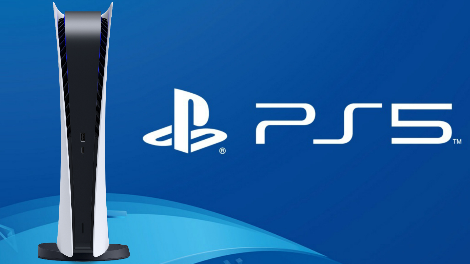 PS5 Logo and Console