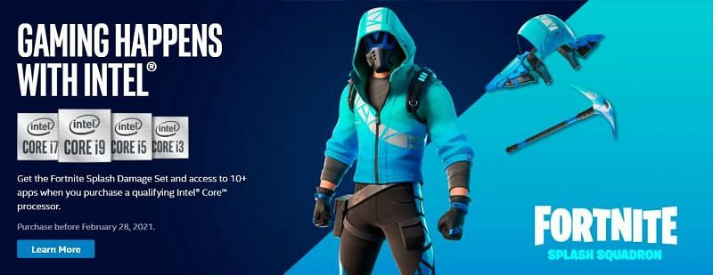 Intel promo shot of the Splash Squadron bundle