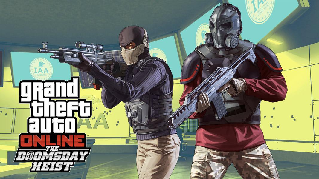 GTA online doomsday heist promo image