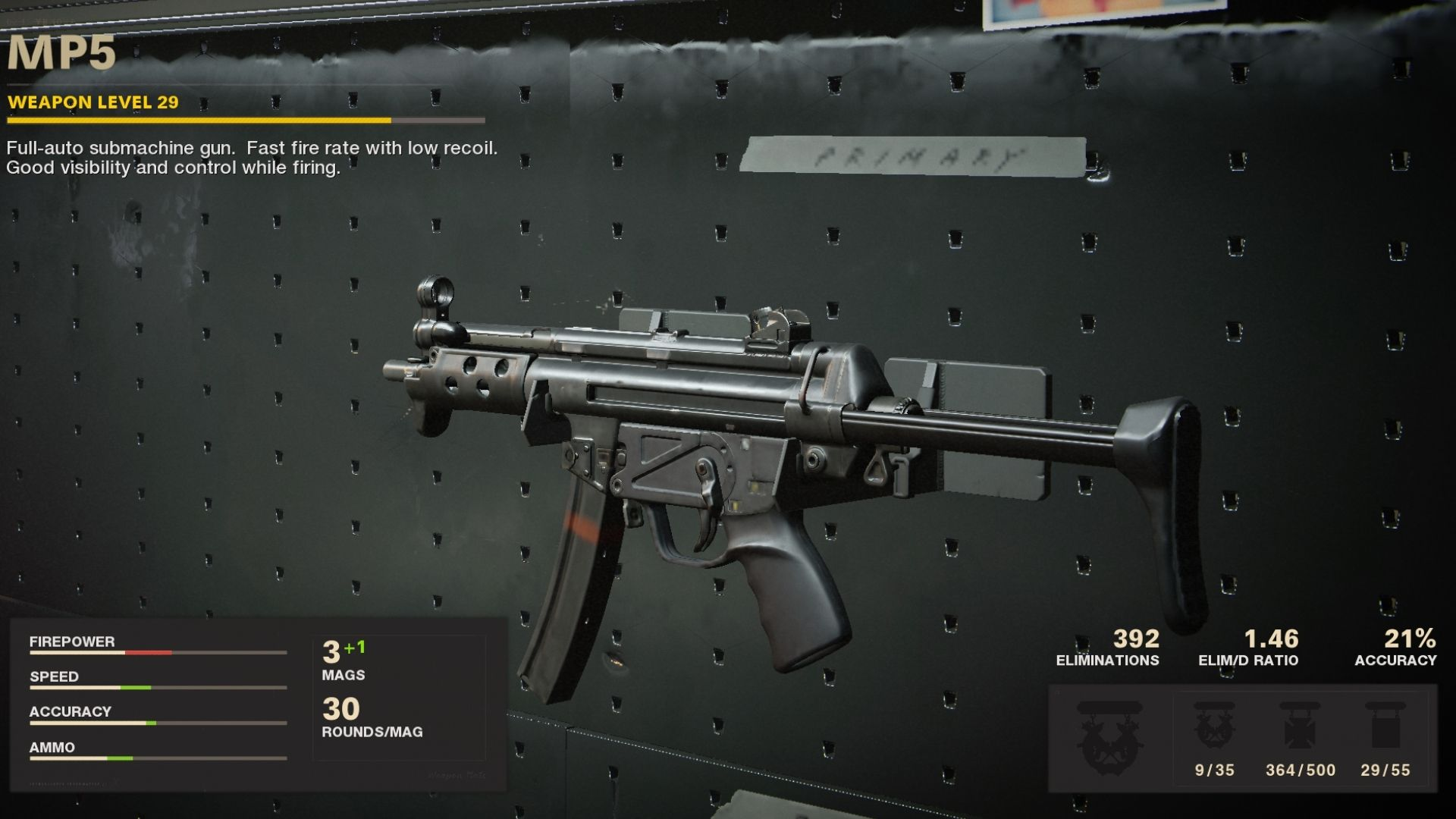 MP5 Black Ops Cold War