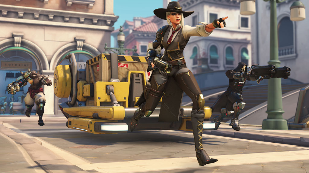 Ashe Overwatch group