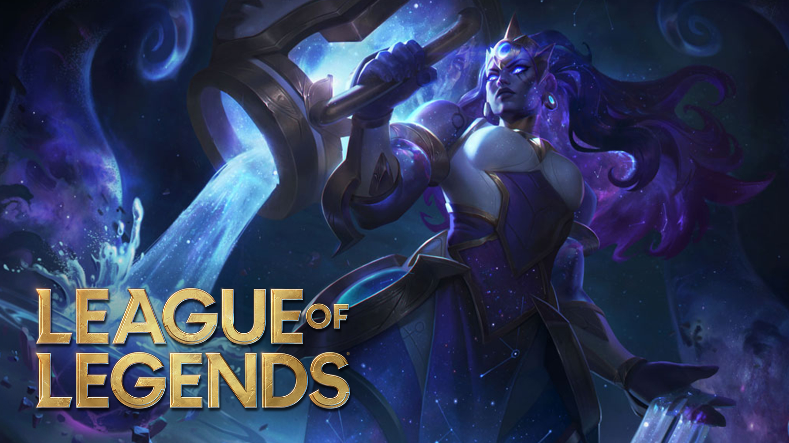 Cosmic Illaoi skin in League of Legends patch 10.24.