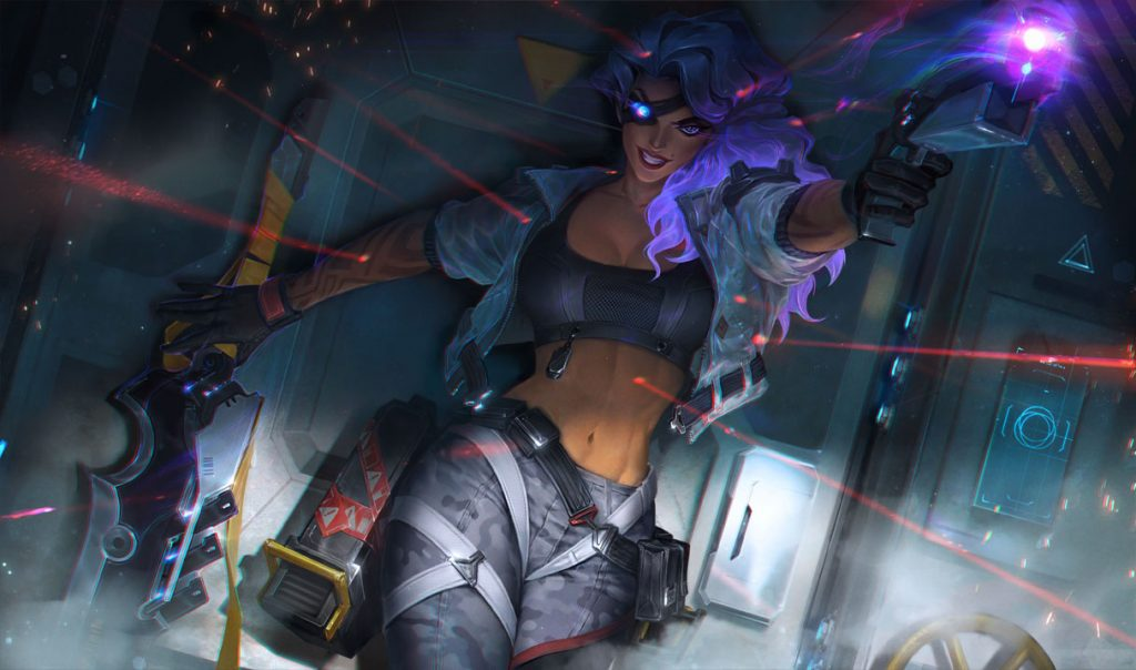 Samira is one of a handful of champions being nerfed in patch 10.24.