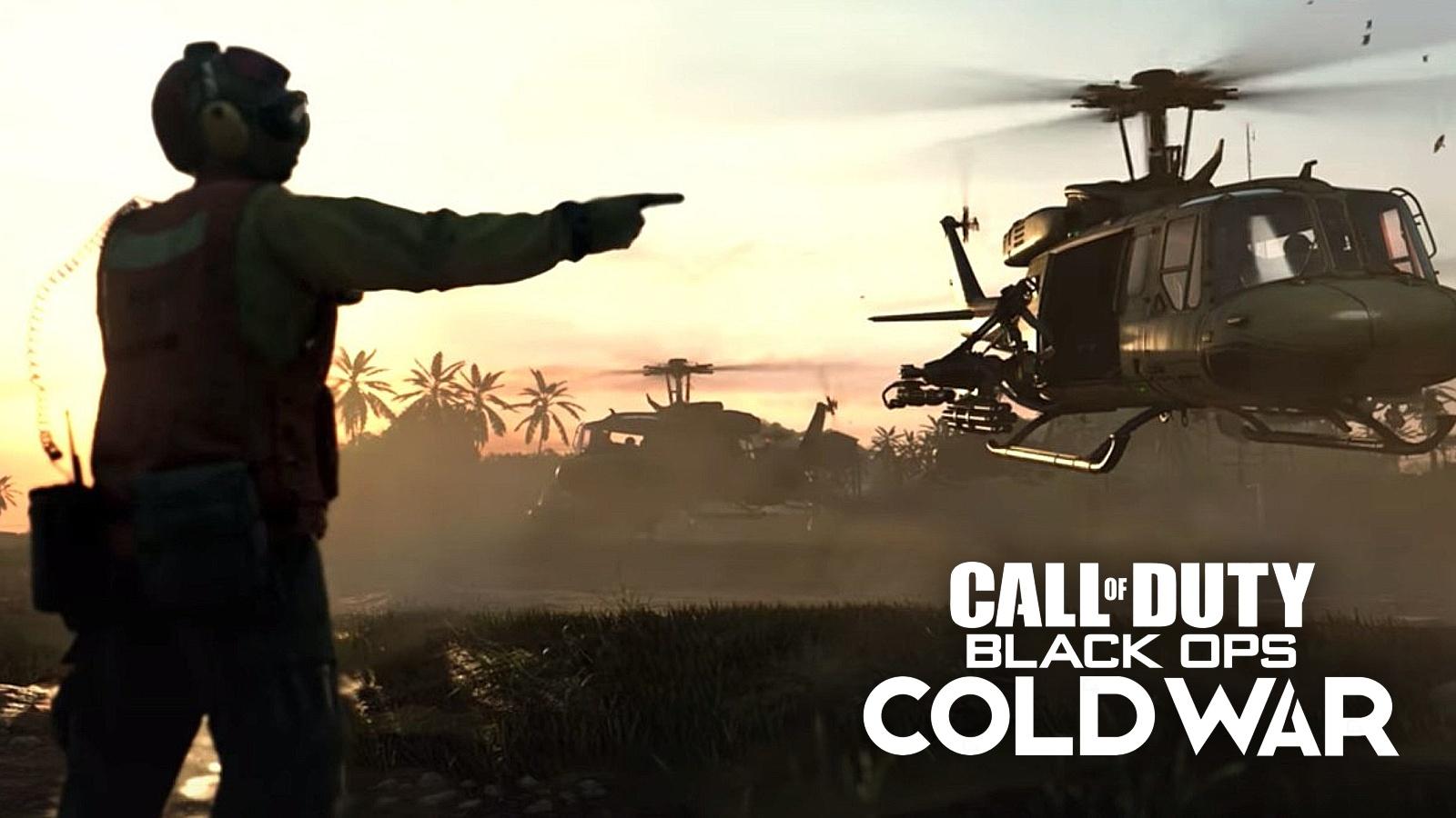 Black Ops Cold War chopper gunner streaks