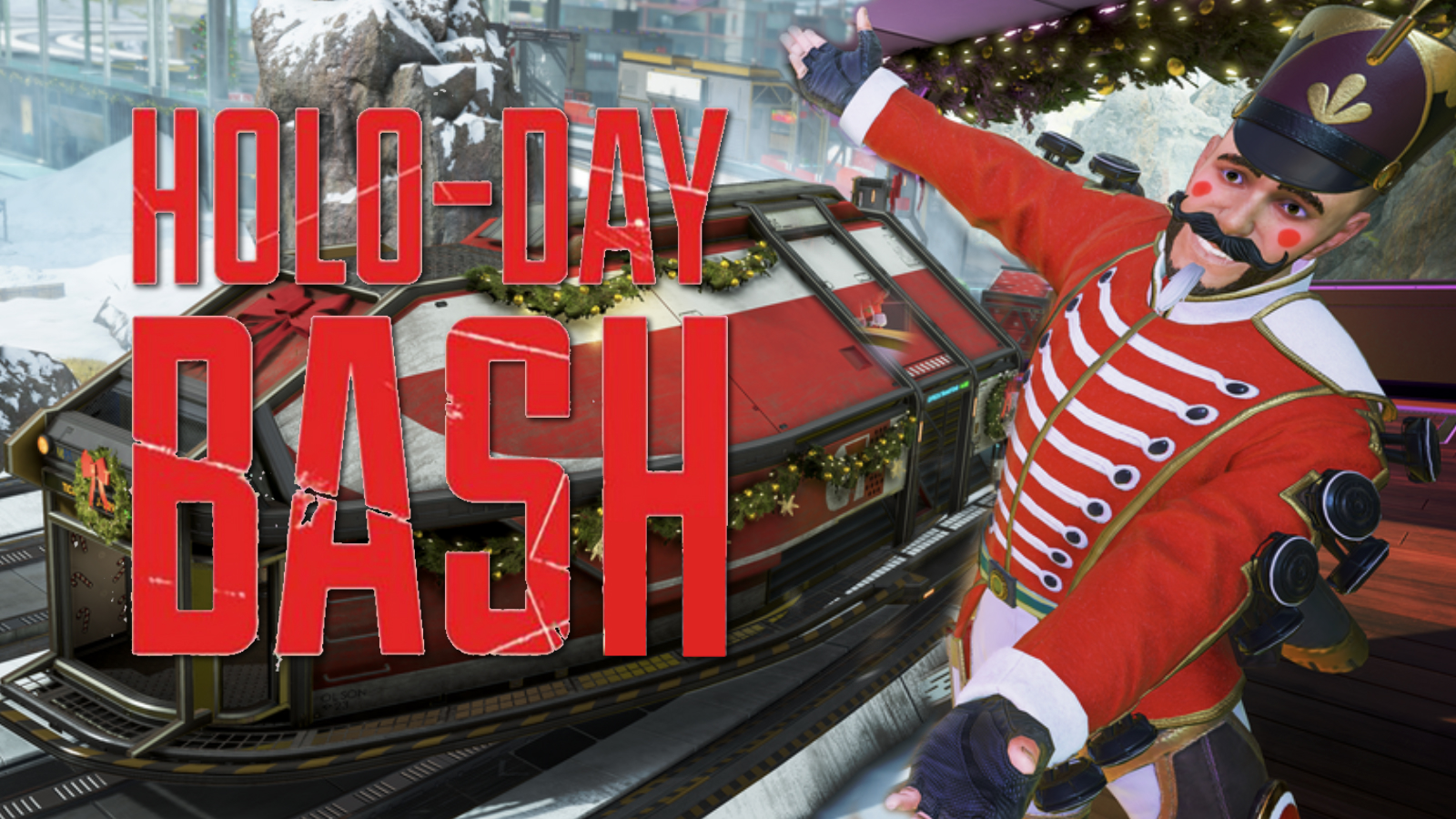 Mirage Holo-Day Bash in Apex Legends