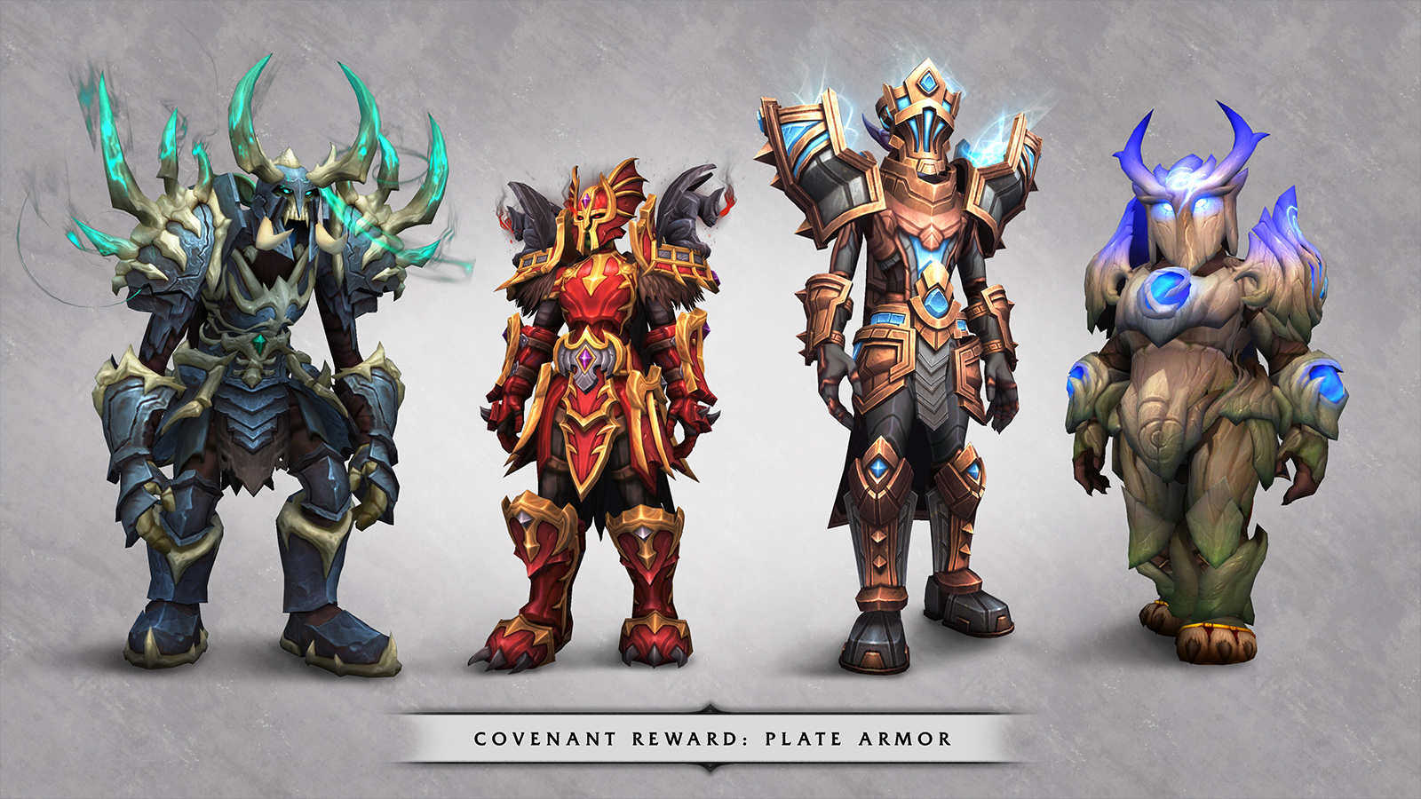 Picture of Plat Armor rewards for Covenants