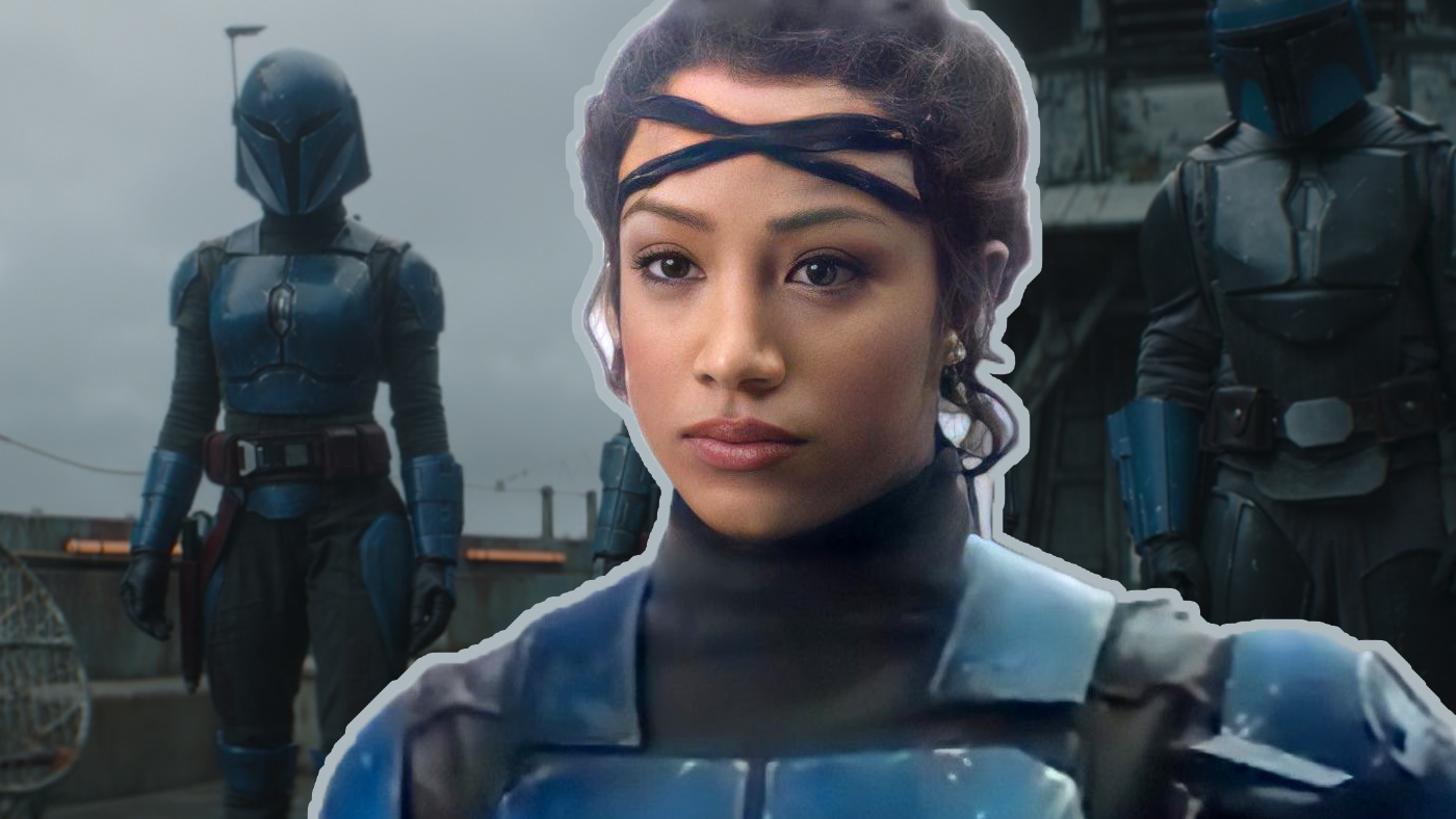 Sasha Banks in The Mandalorian