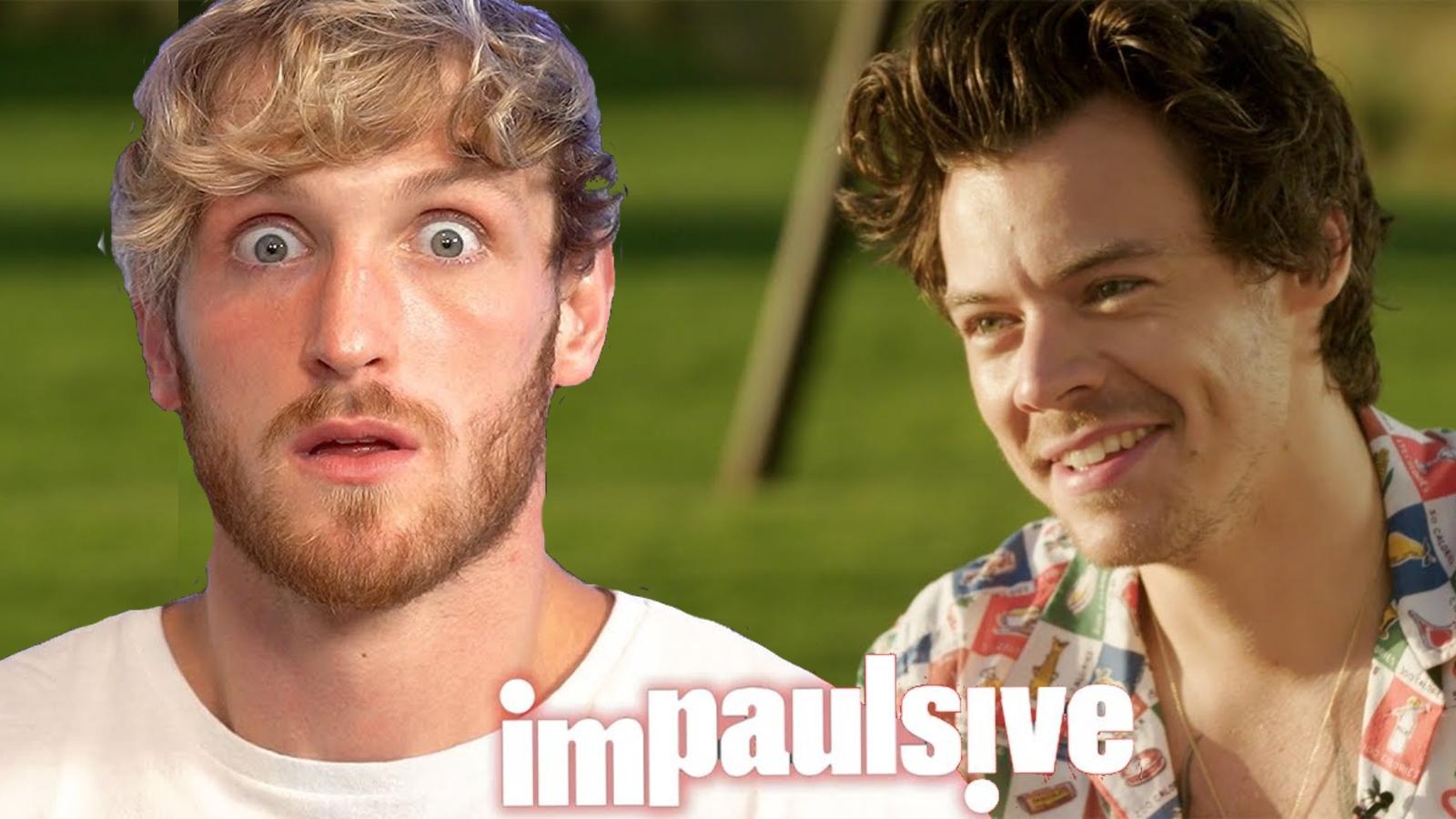 Logan Paul and Harry Styles