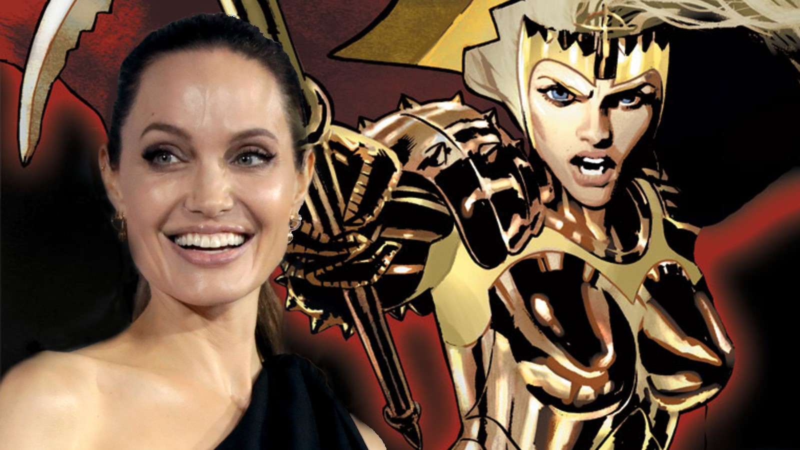 Angelina Jolie as Thena in Eternals
