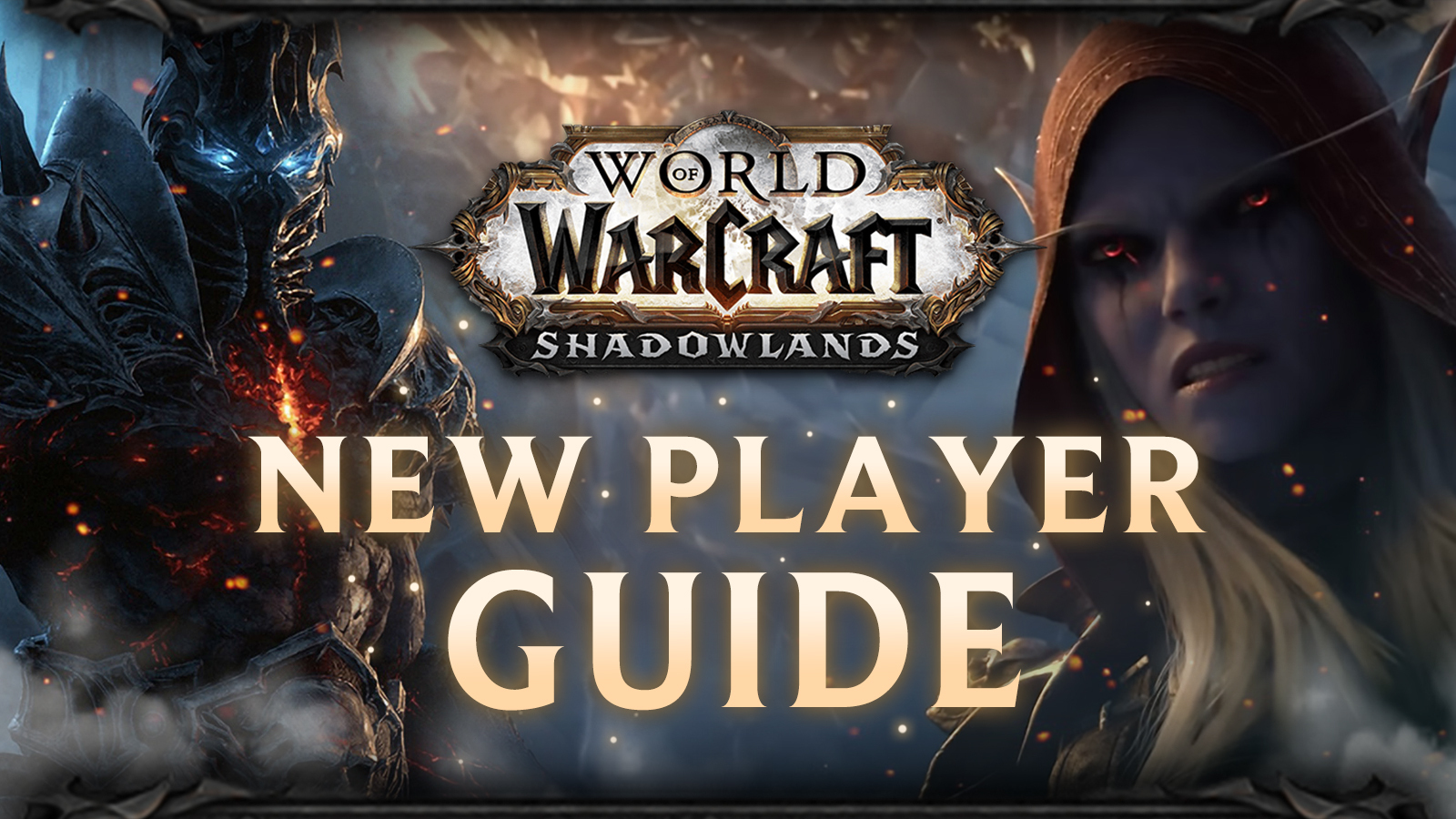 New player guide for WoW, with Sylvanas and Lich King