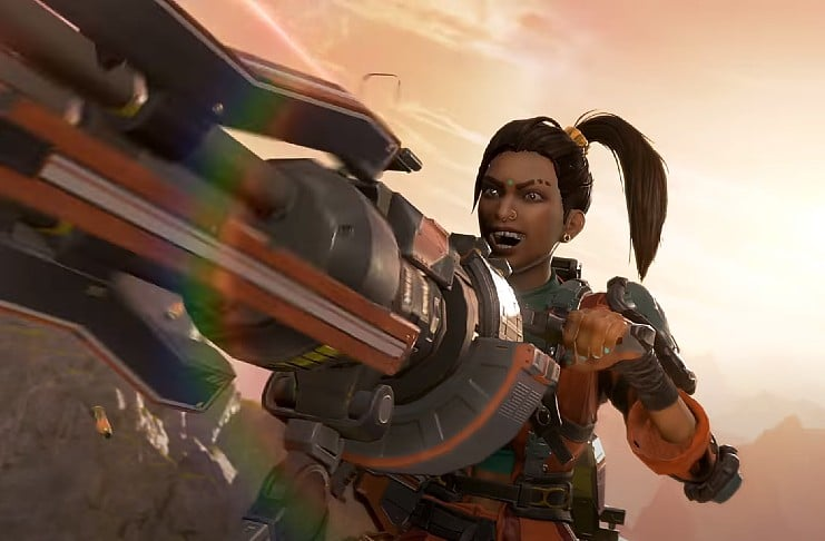 Apex Legends rampart gameplay