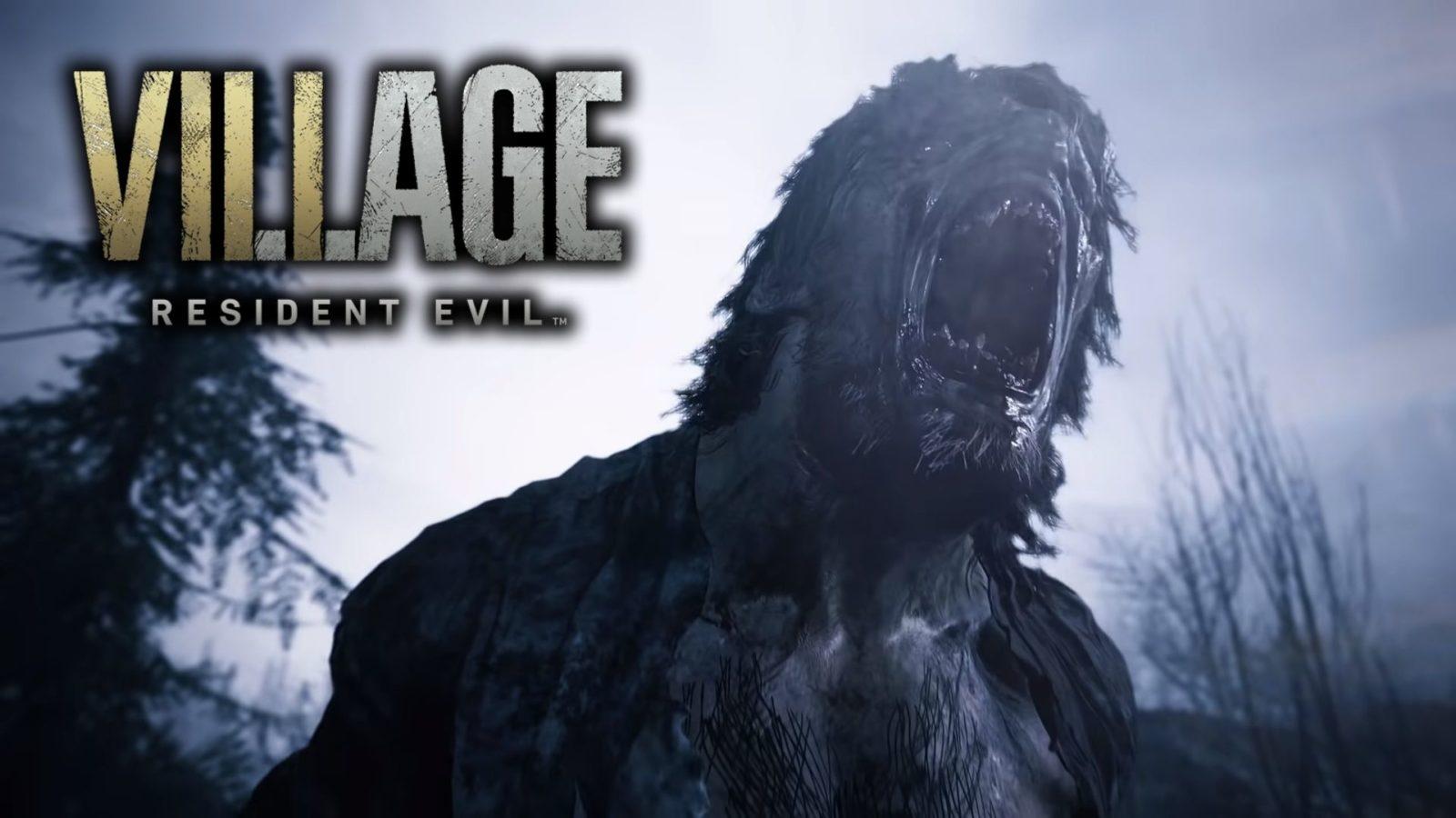 werewolf in resident evil 8 ps5