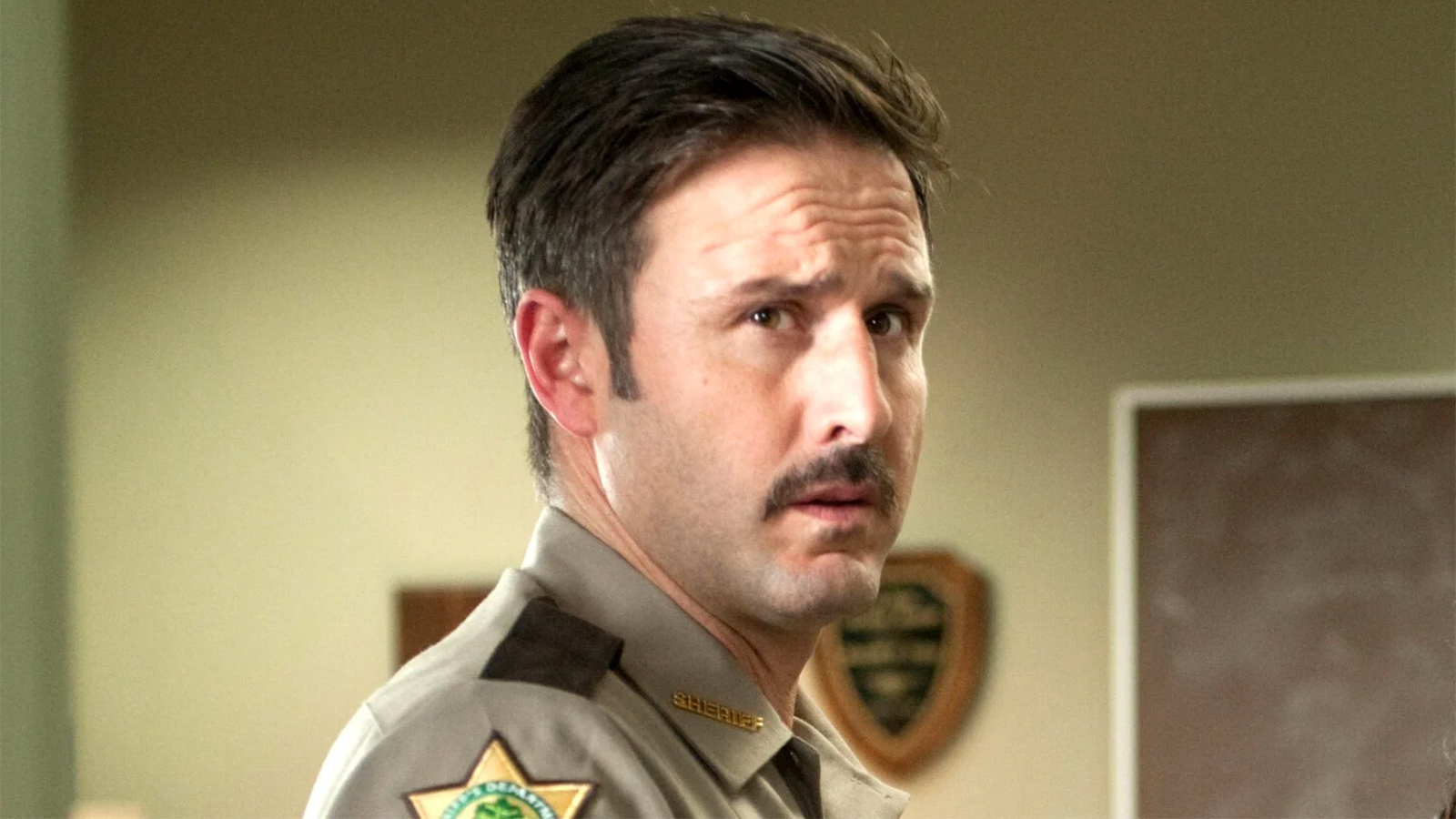 David Arquette as Dewey in Scream