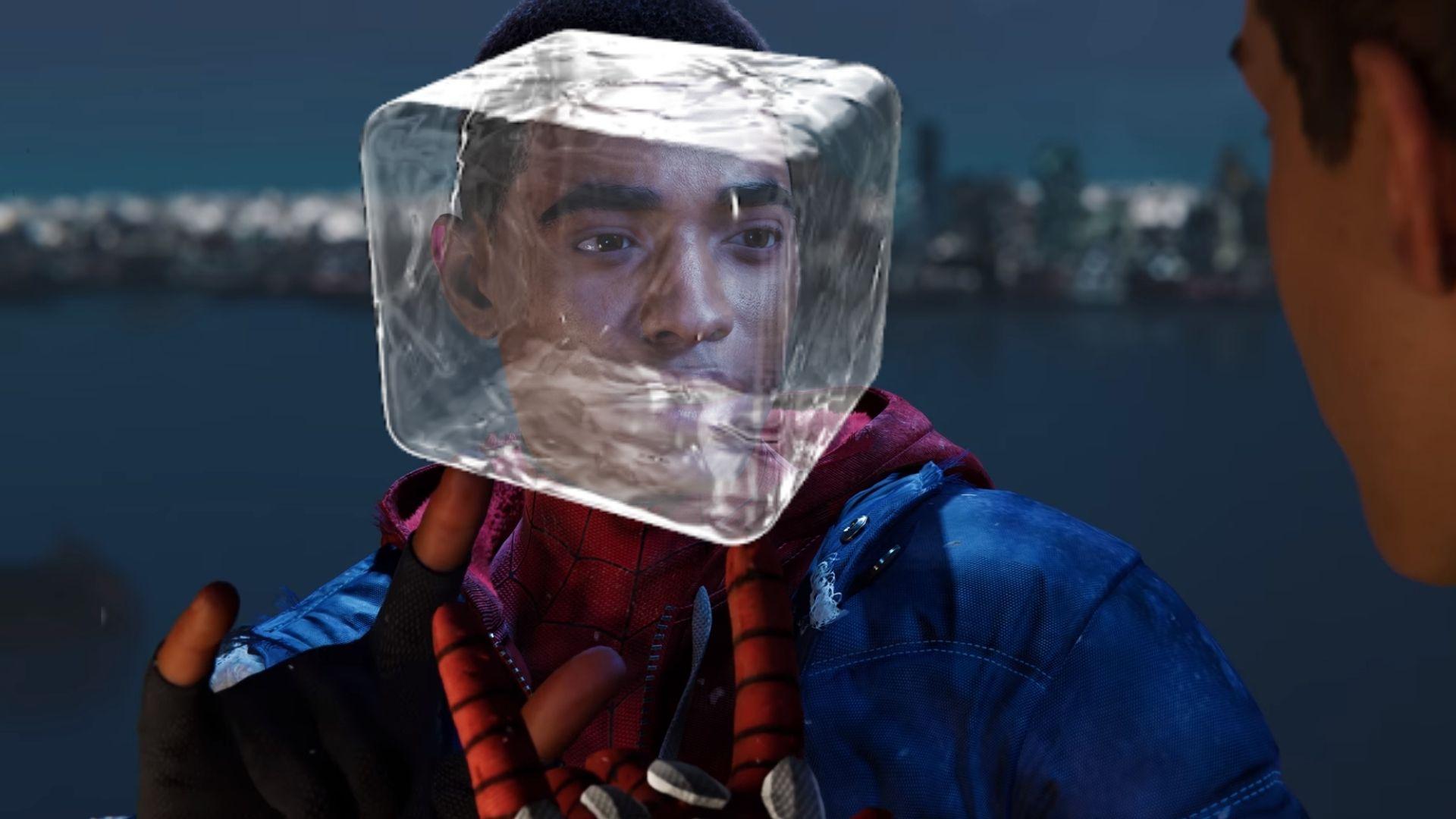 miles frozen in ice