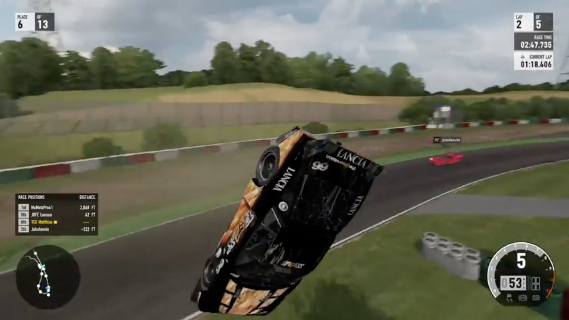 Forza Motorsport space glitch