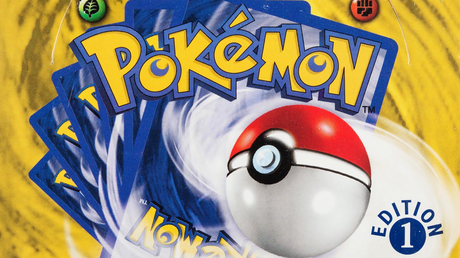 pokemon 1st edition booster box