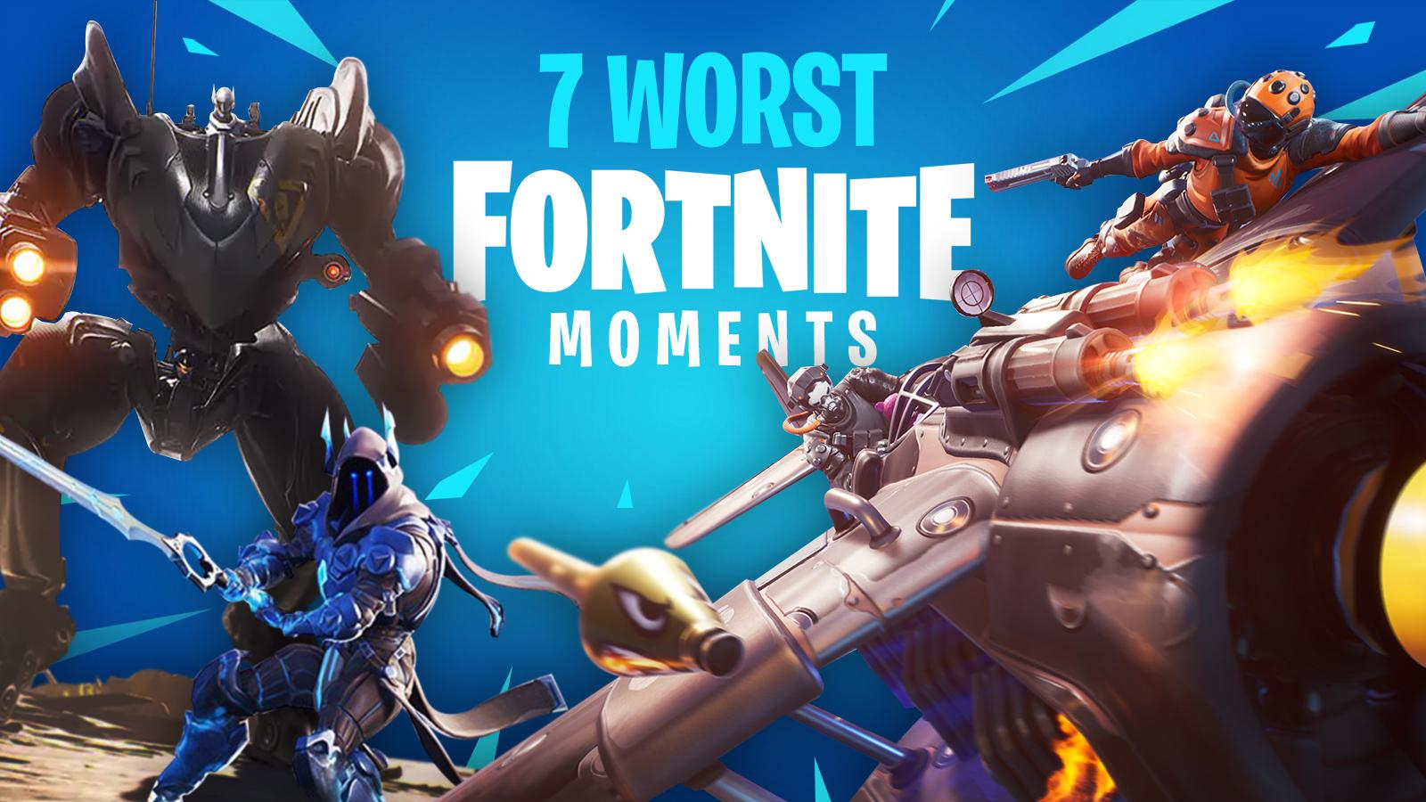 Fortnite worst moments image