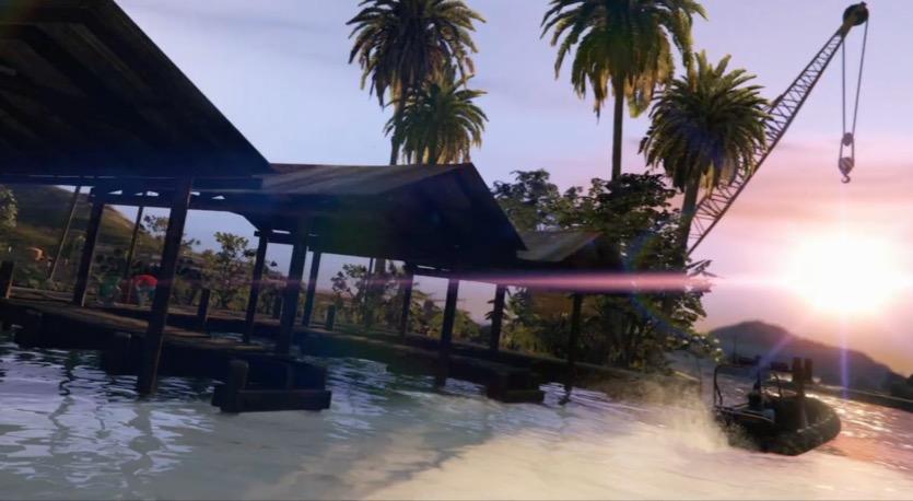 GTA Online cayo perico heist.