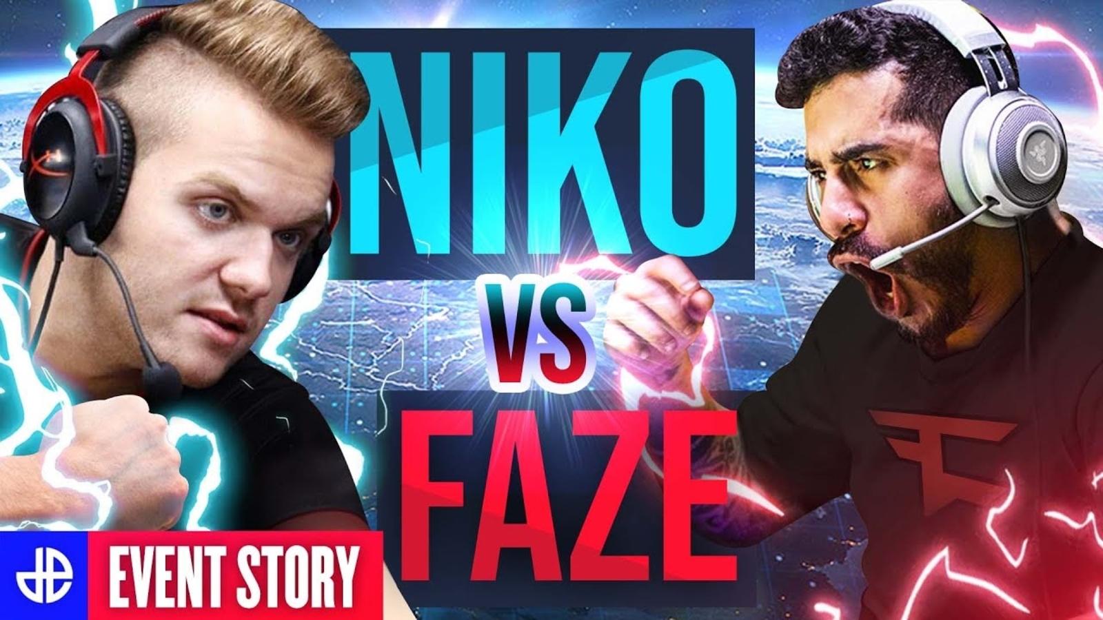 NiKo vs FaZe