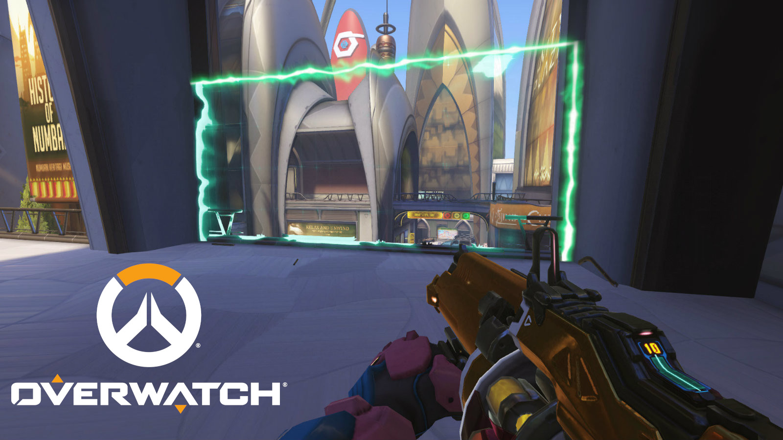 Baptiste Amp Matrix on Numbani