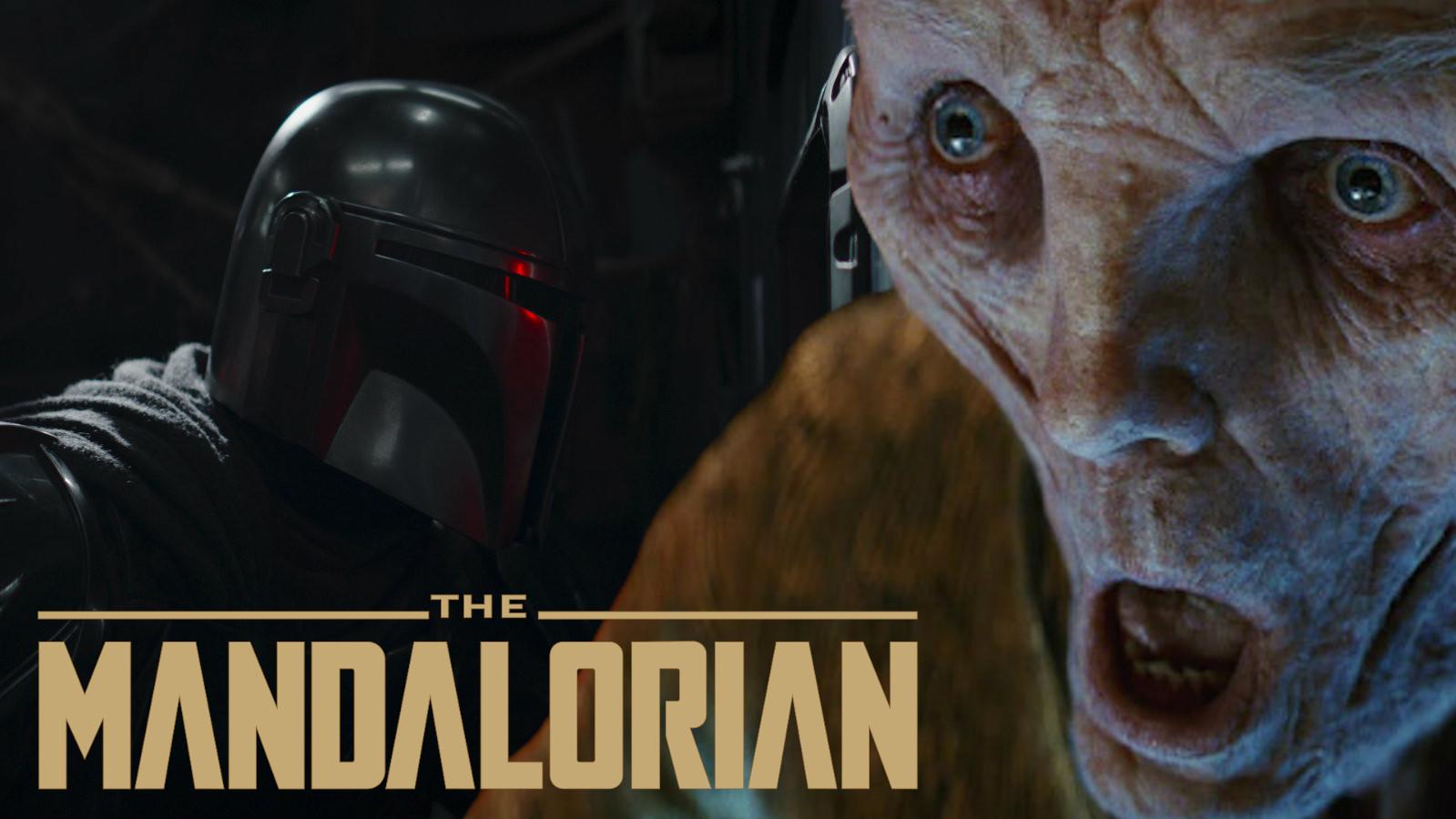 Mandalorian and Supreme Leader Snoke