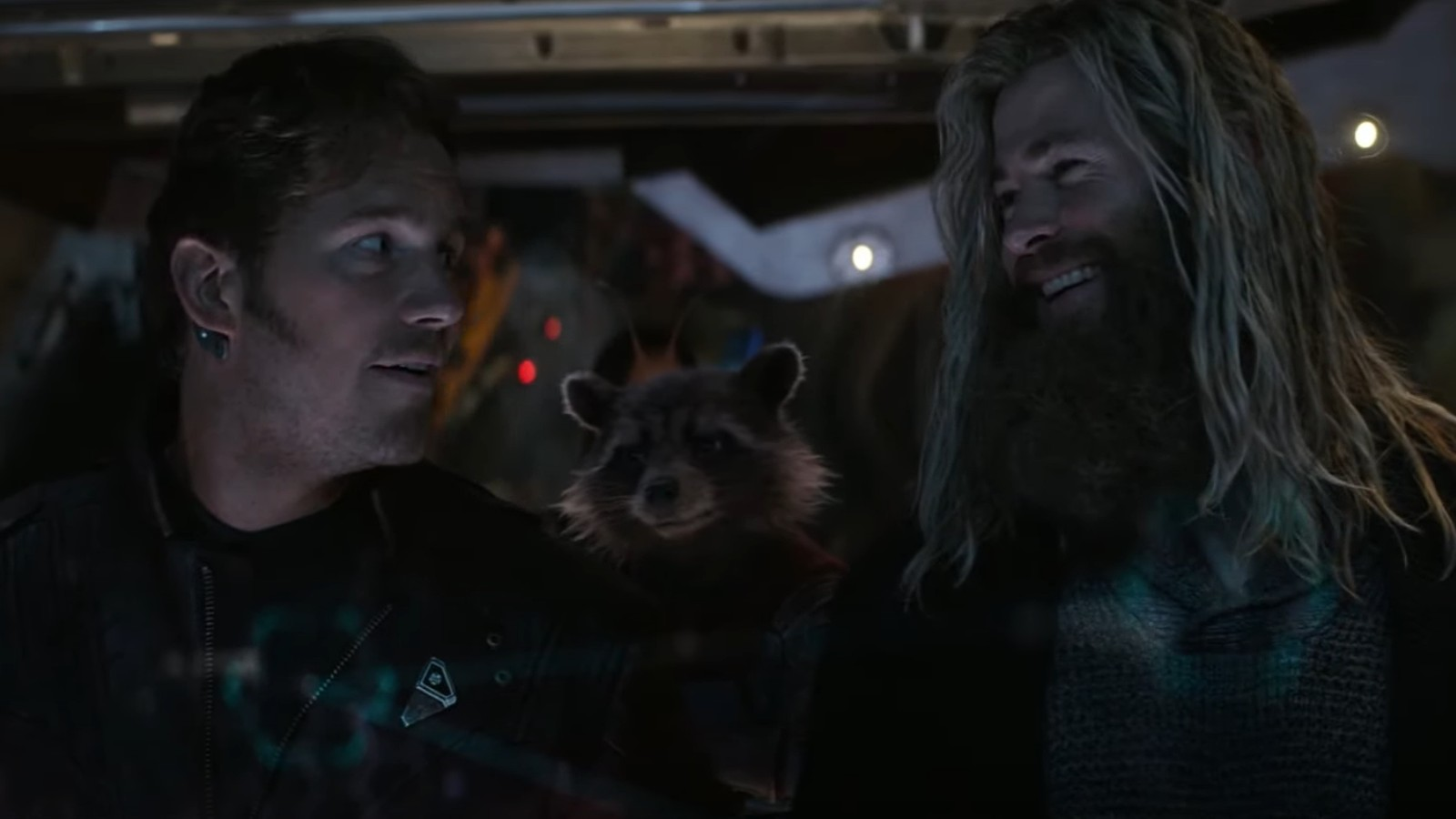 Thor and Star Lord in Marvel's Avengers: Endgame