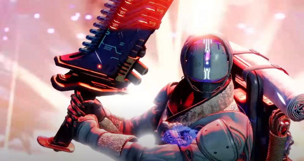 Destiny 2 Beyond Light Guardian Holding Lament