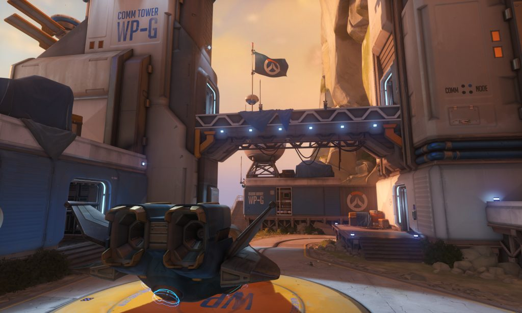 Overwatch Watchpoint Gibraltar Map
