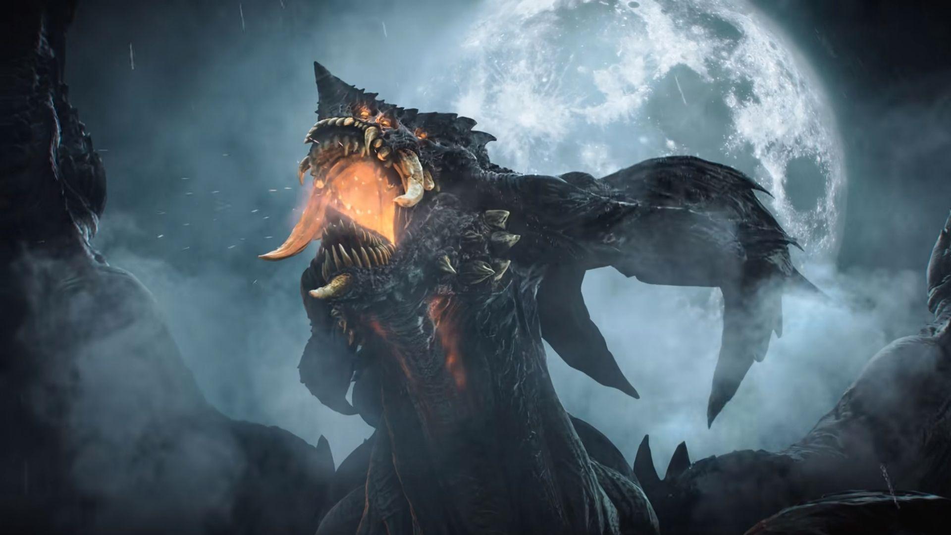dragon in demon's souls