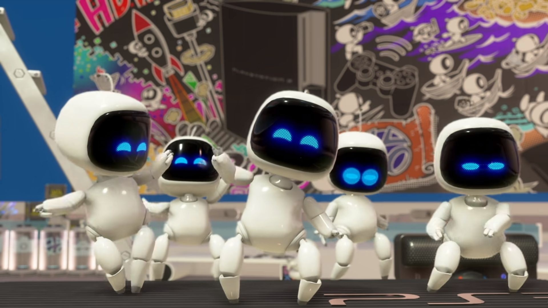 bots in astro's playroom