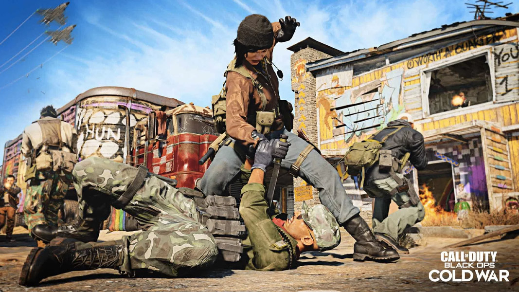 Nuketown in Black Ops Cold War