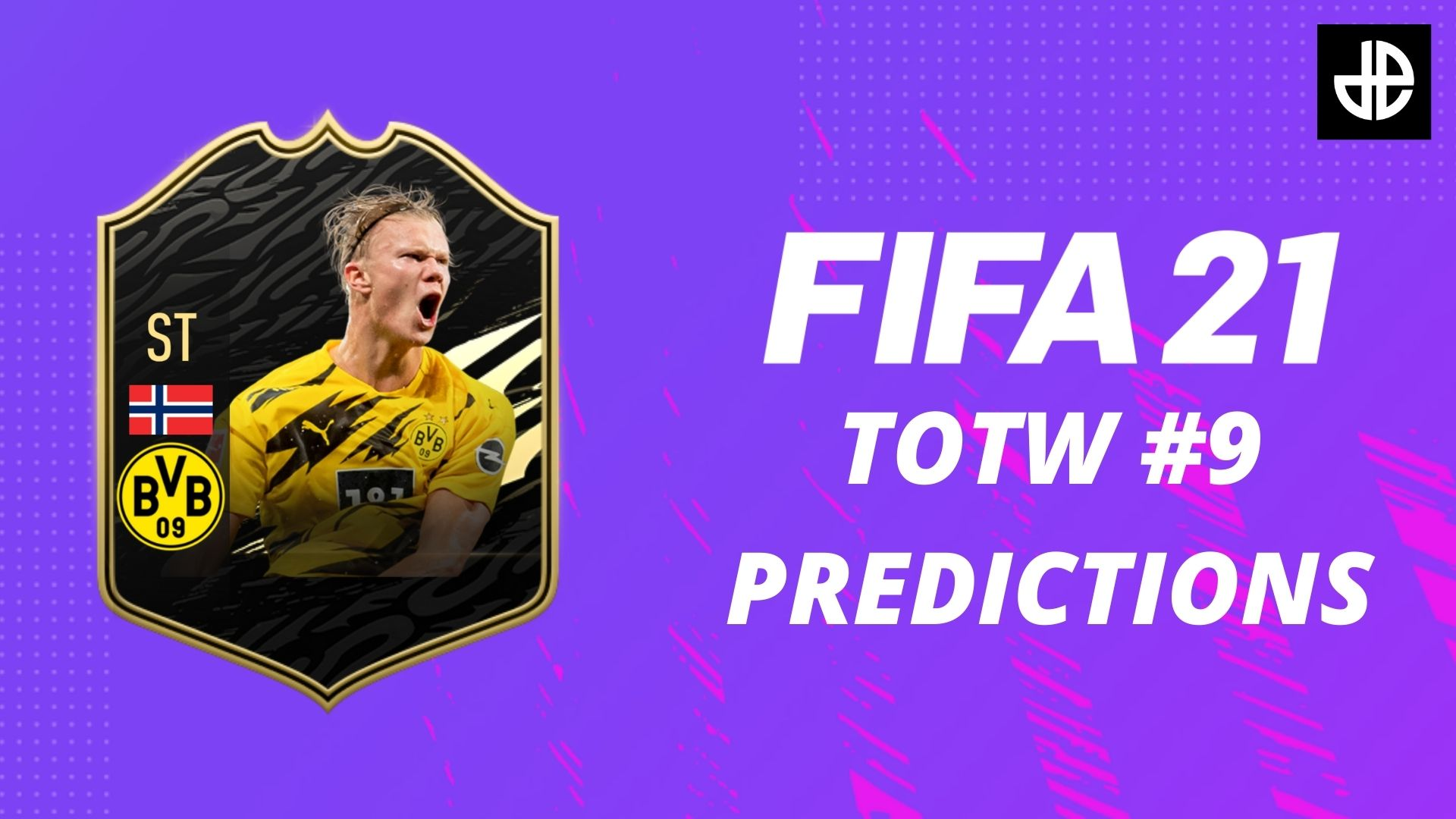 FIFA 21 TOTW 9 predictions with Erling Haaland card