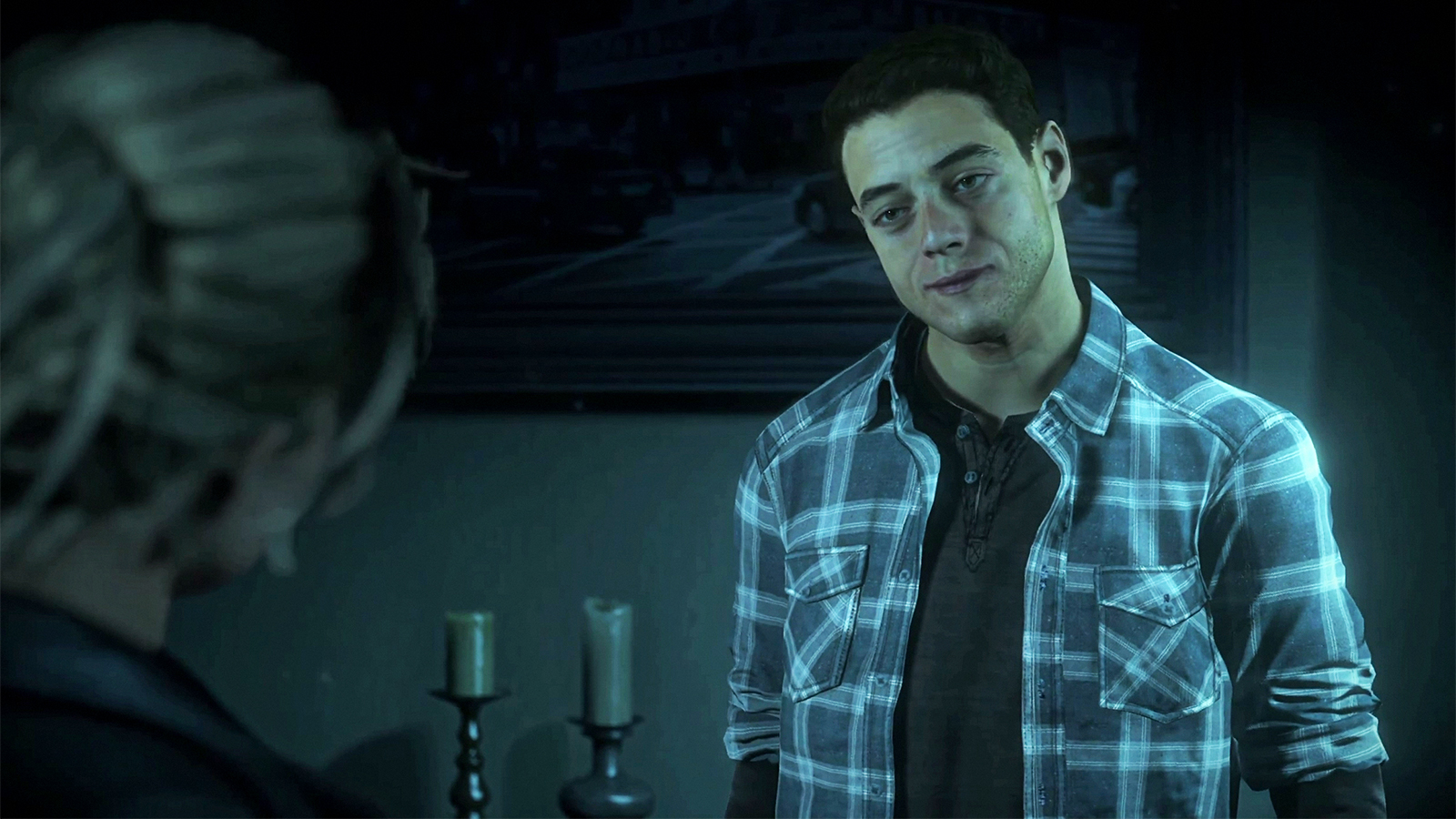Rami Malek in Until Dawn