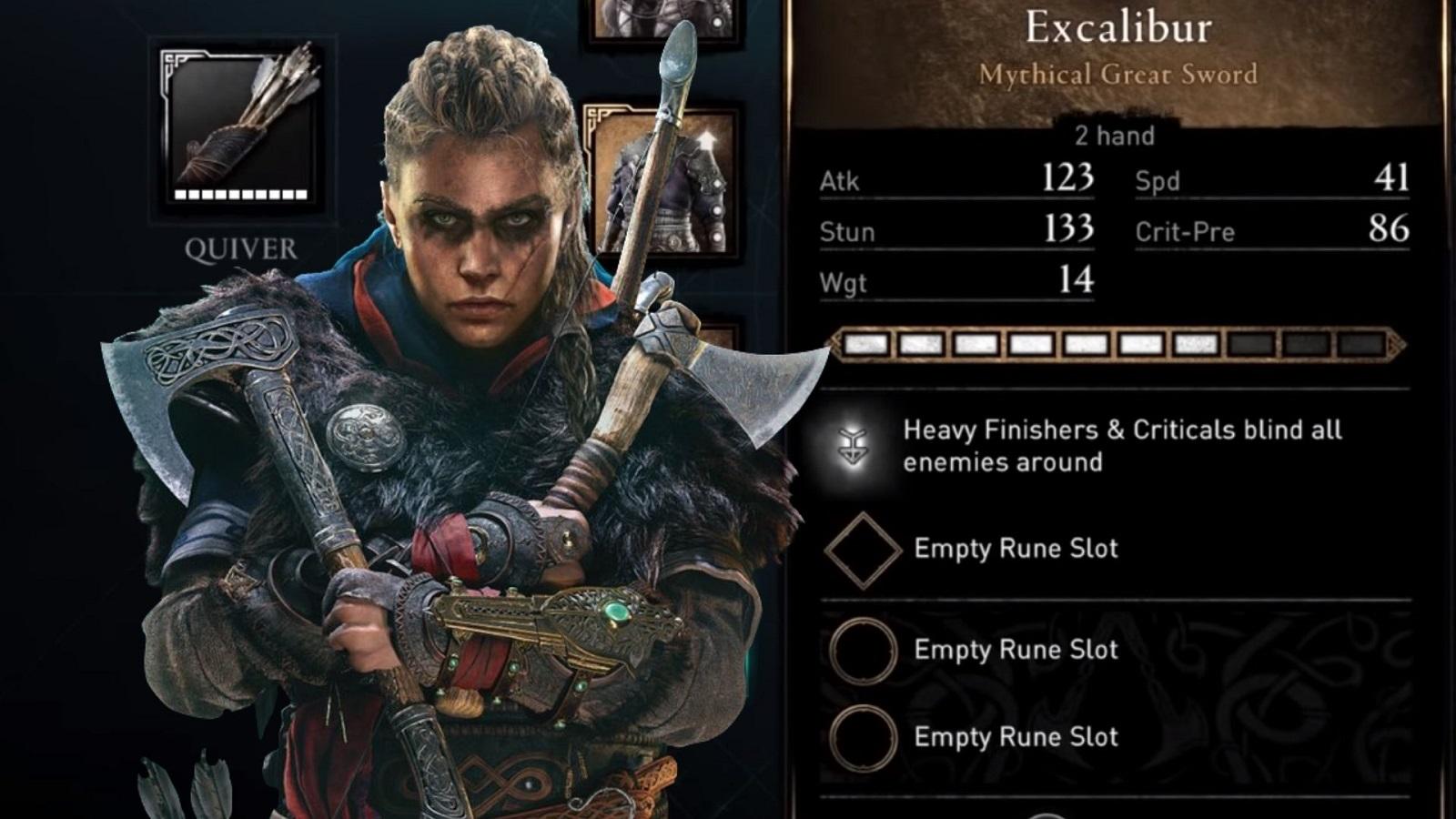 Excalibur stats