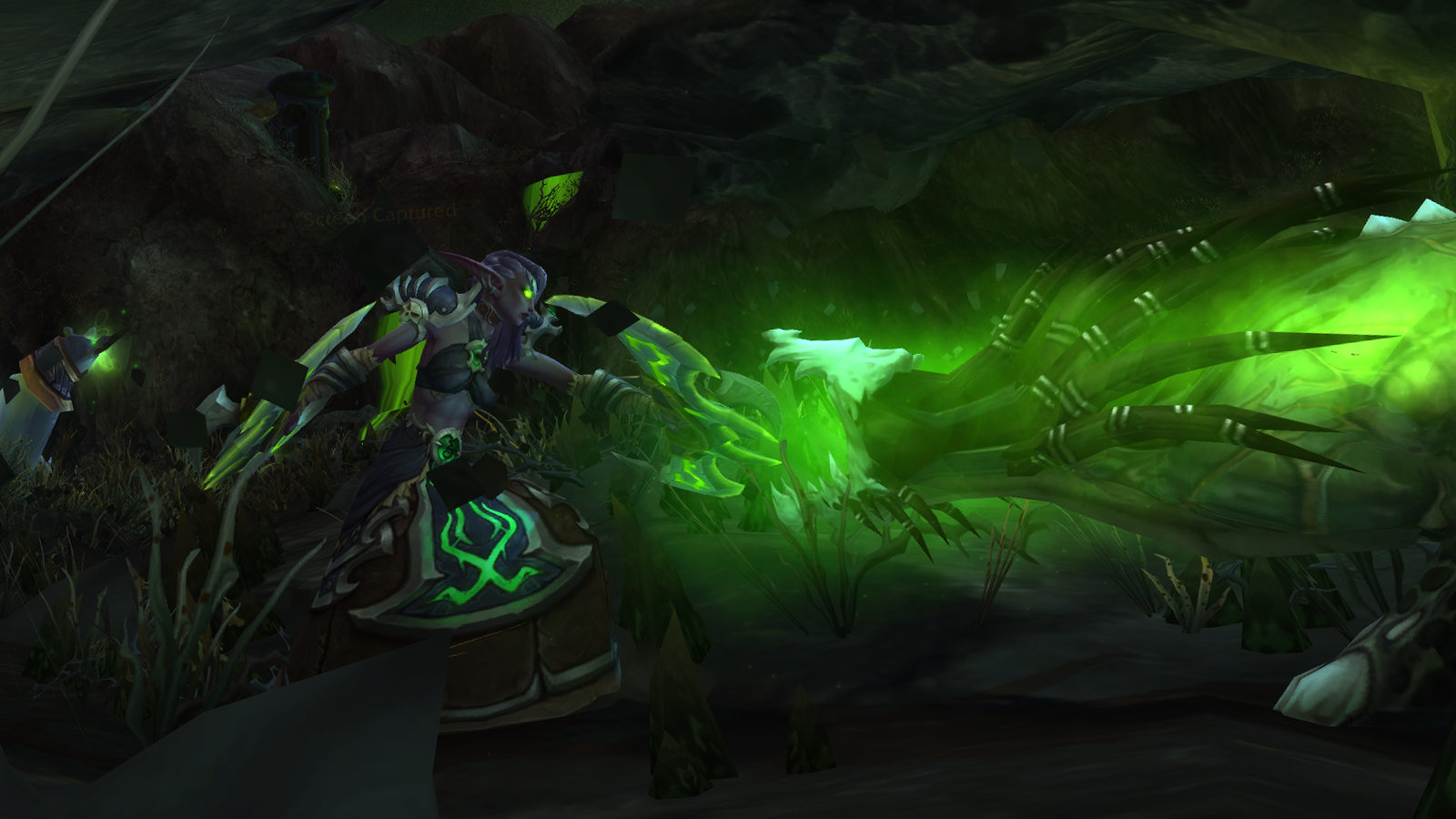 Demon Hunter Night Elf in The Shattered Abyss
