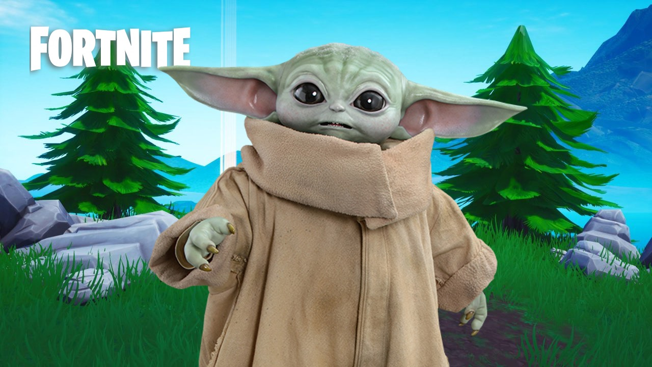 Baby Yoda Coming In Fortnite Season 5 Mandalorian Star Wars Theme Leaked Dexerto