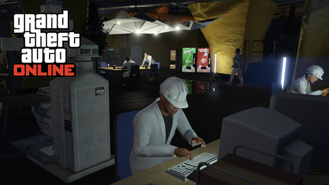 An operational bunker in GTA Online
